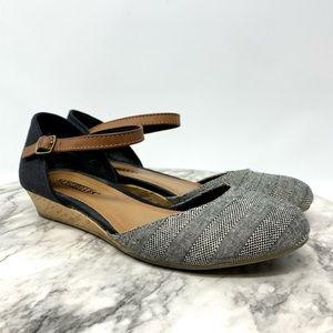 Anthro//Seychelles Begonia MJ demi wedge flats 6